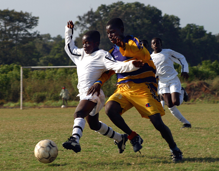 Football Coaching & Playing Project in Ghana, Accra 2603