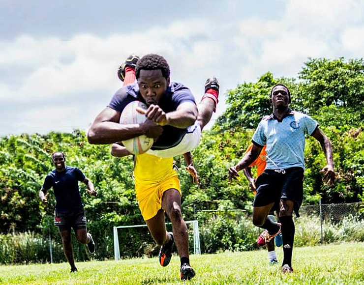 Play Rugby in Caribbean