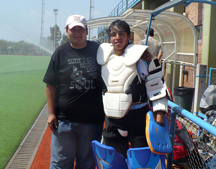 Argentina Hockey Goal Keeping