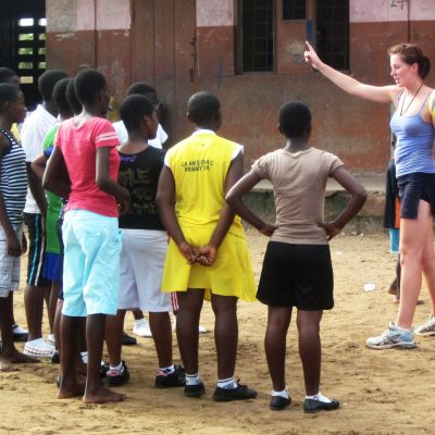 Netball Coaching & Playing Project in Ghana, Accra
