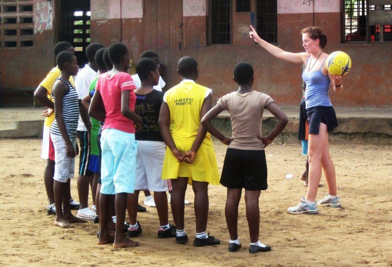 Coach Netball in Ghana