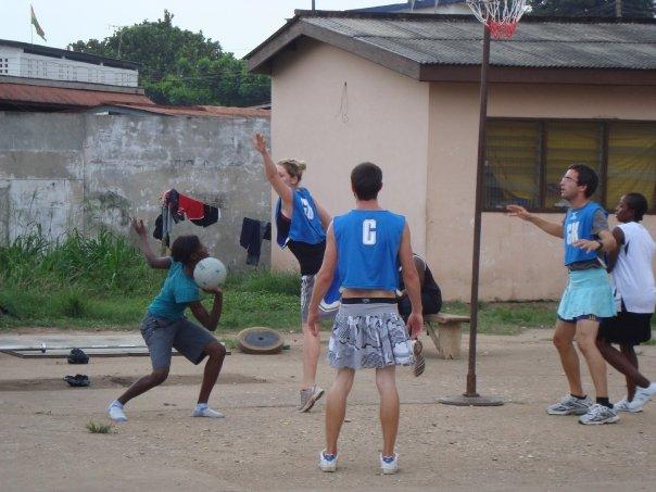 Netball in Ghana