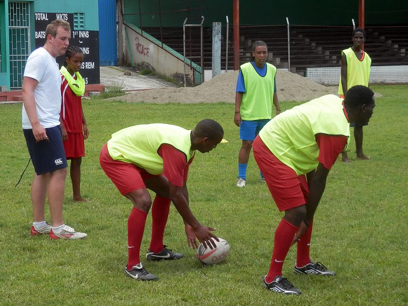 Rugby Coaching Project St Lucia