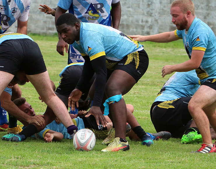 Play Rugby with St Lucian National Team