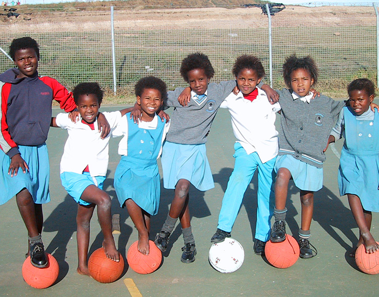 Young South African Netballers