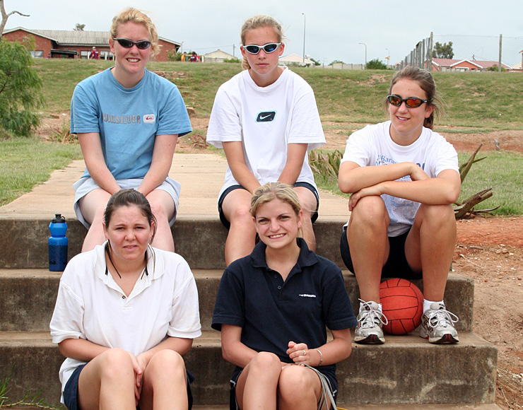Netball Coaching Volunteers South Africa