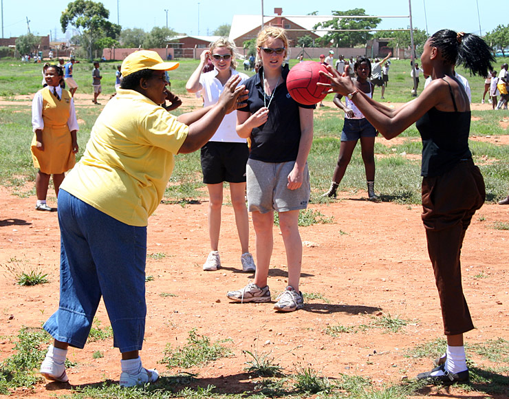 Coaching Netball in South Africa