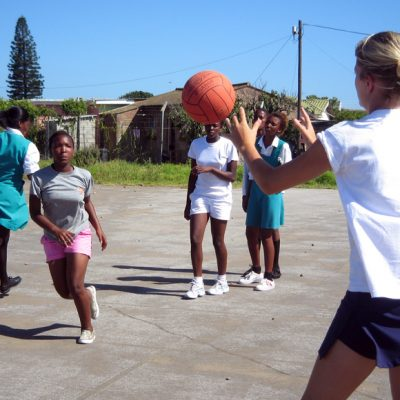 Netball Coaching Project in South Africa, Port Elizabeth