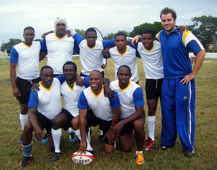 Rugby Team in St Lucia