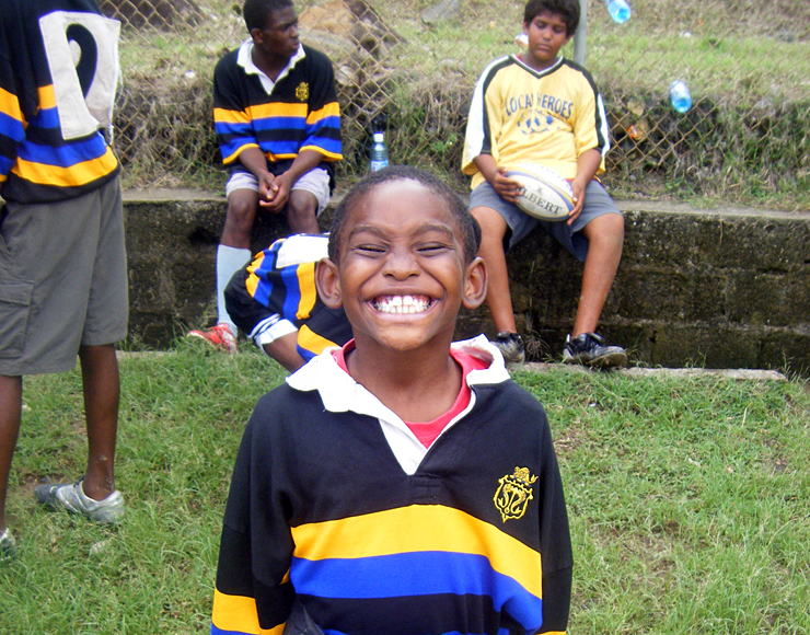 Children's Rugby St Lucia
