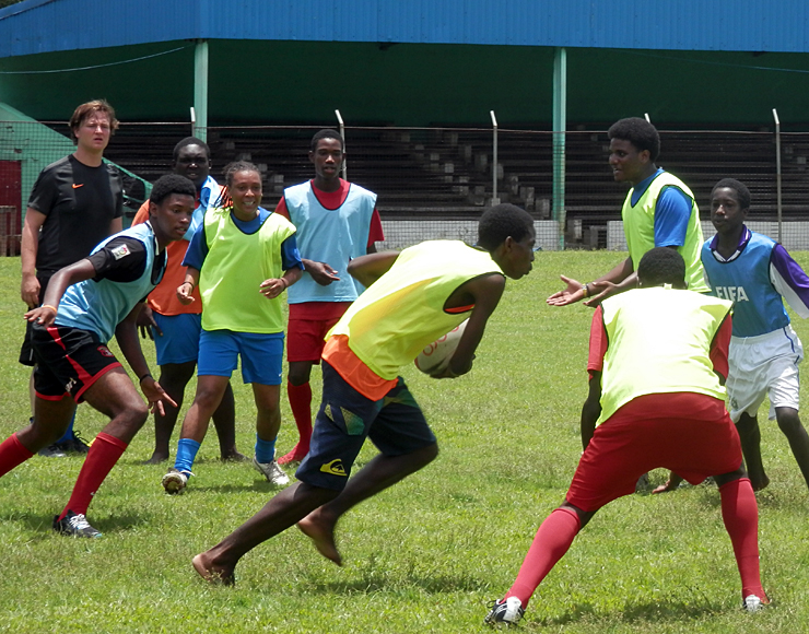 Rugby Coaching in St Lucia
