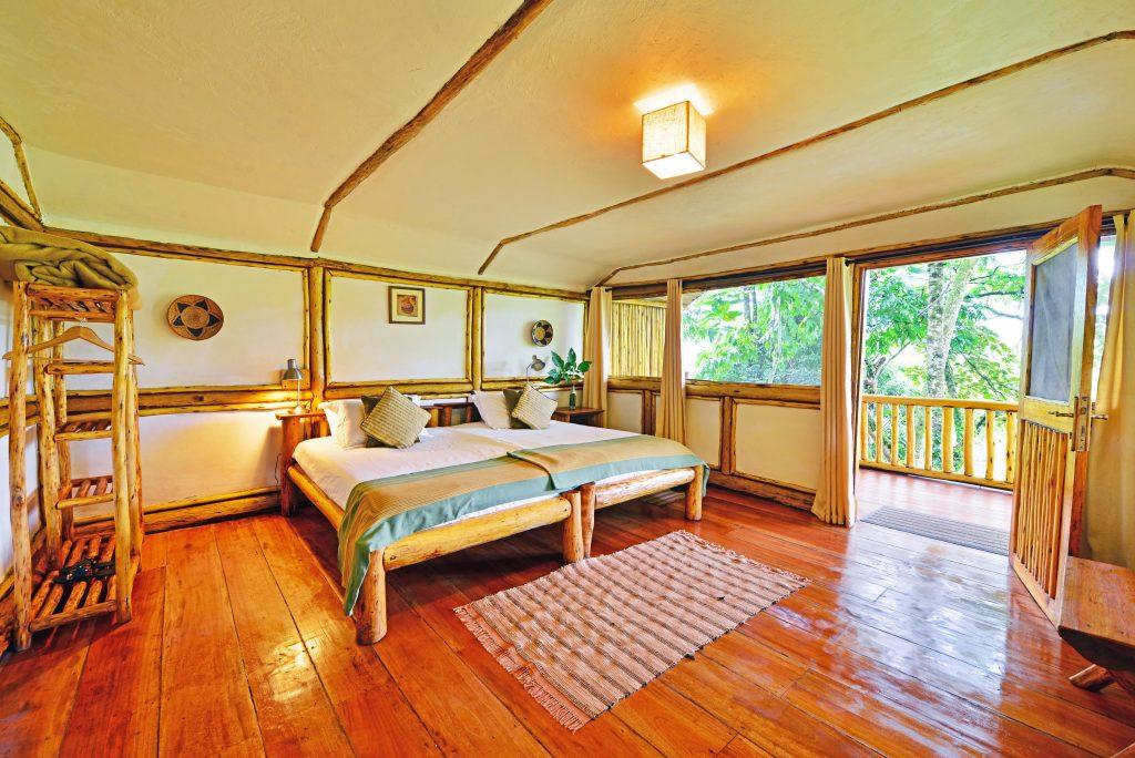 Uganda - 1568 - Bwindi Impenetrable Forest - Buhoma Lodge Room Interior