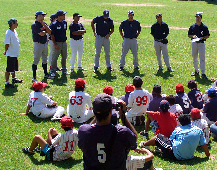 Coach Baseball in South America