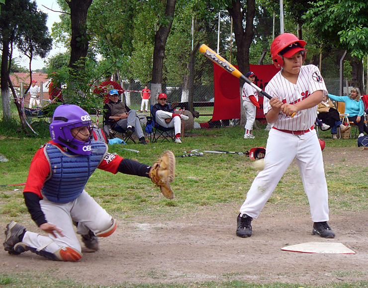 Baseball for Kids in Argentina