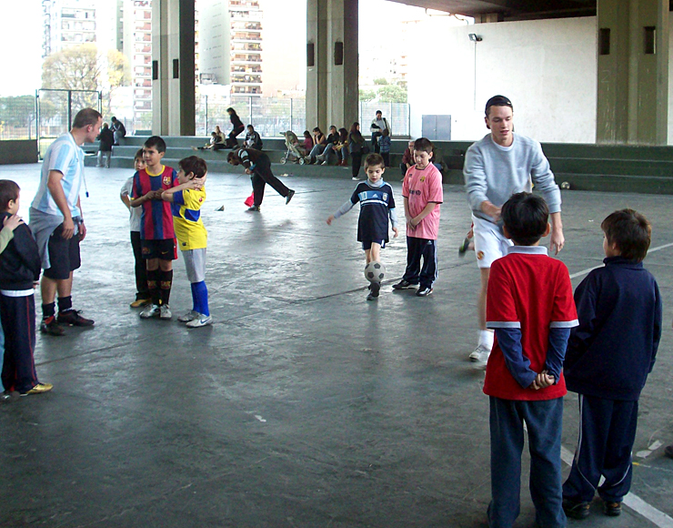 Football Coaching Project in Argentina