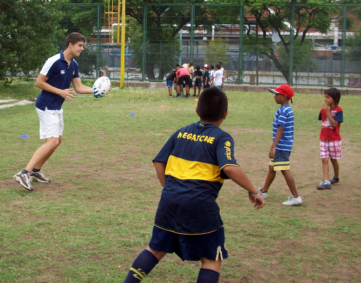 Rugby Coaching Session Argentina