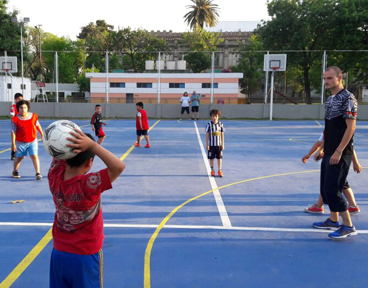 Football Coaching and Training in Argentina, Buenos Aires 2566