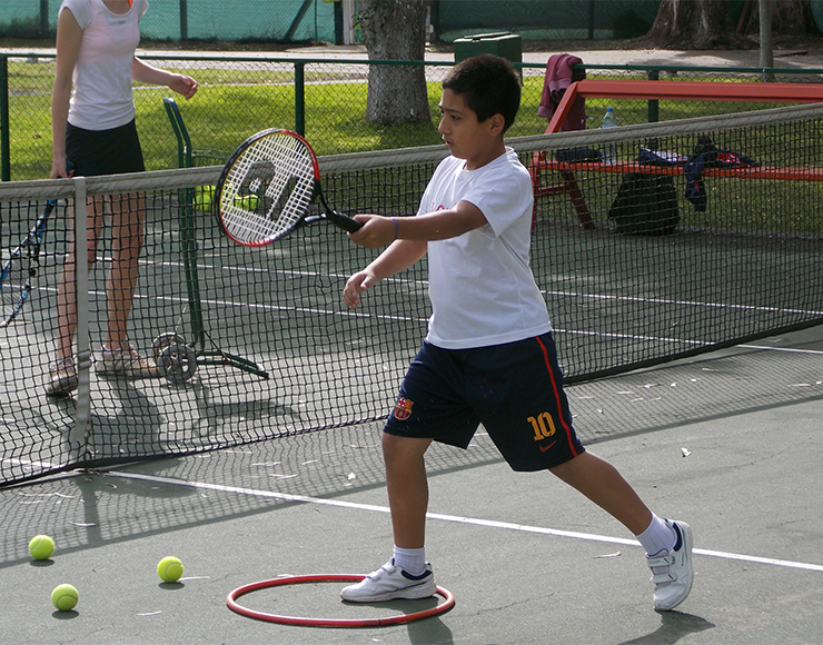 Teach Tennis to Kids