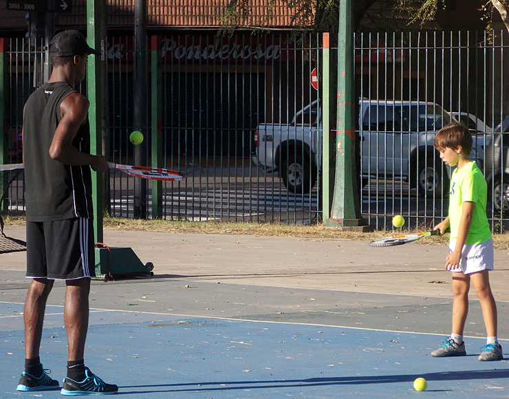 Tennis Coaching Project in Argentina