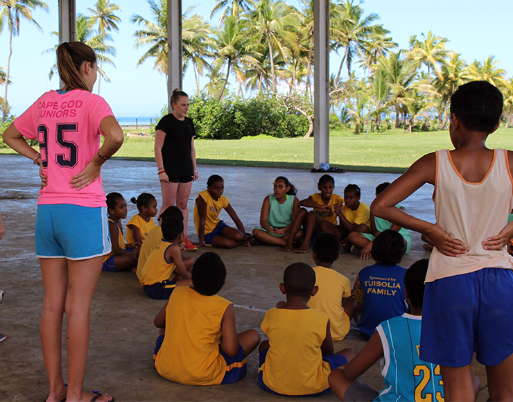 Multi-Sports Coaching Project in Fiji, Suva 2549
