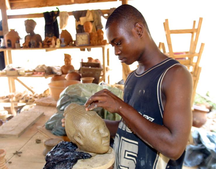 Ghana Sculpture Artist