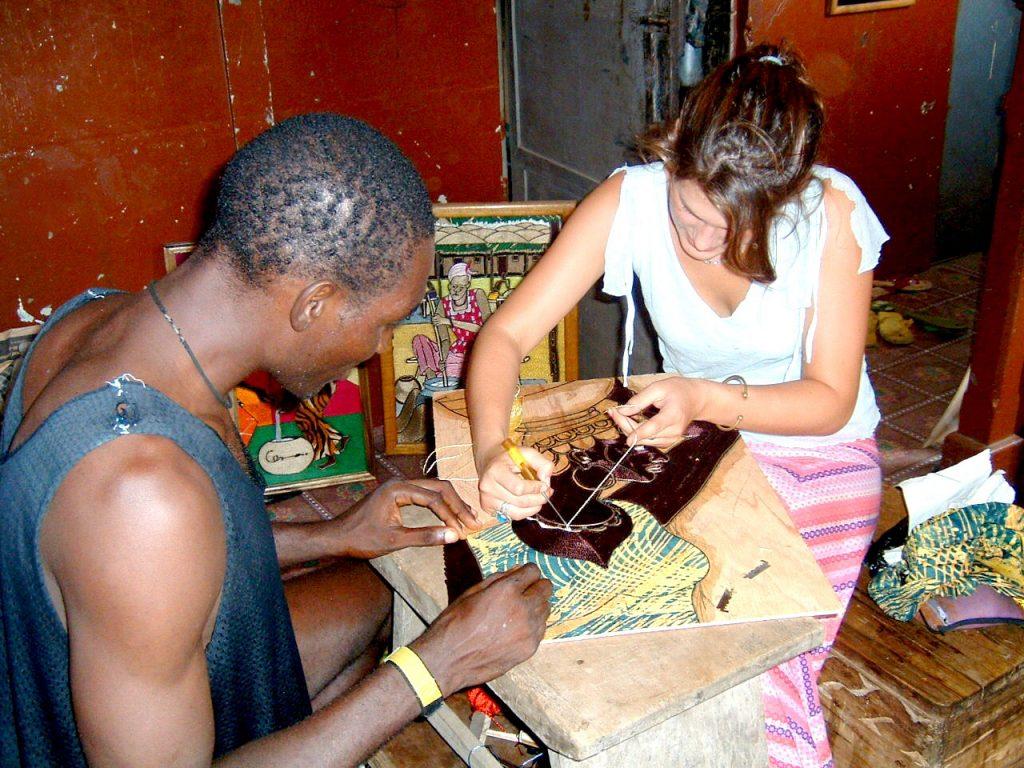 Learn African Art Ghana