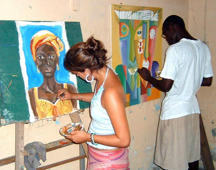 Learn African Painting Styles