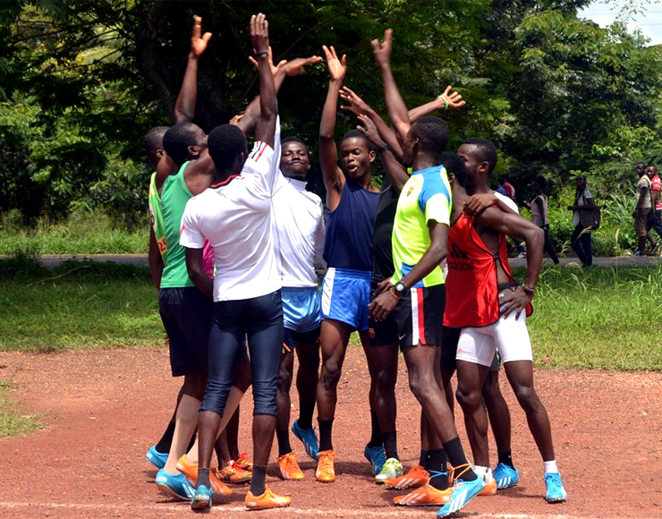 Young Athletes in Ghana
