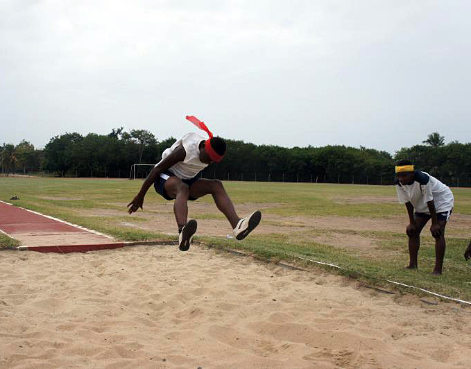 Ghana Long Jump Training