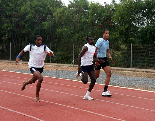 Athletics Training in Ghana
