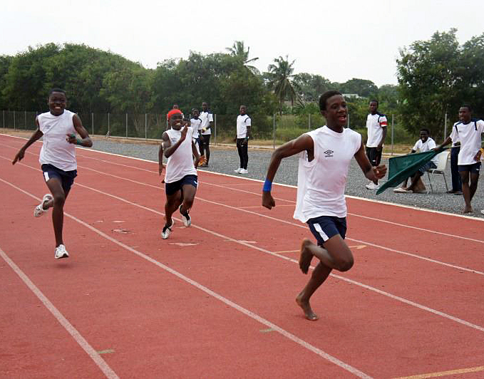 Athletics Track in Ghana