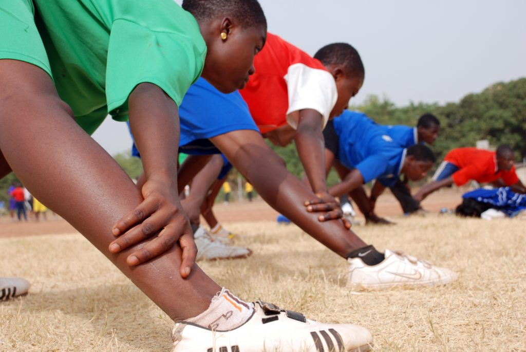 Ghana Athletics Training