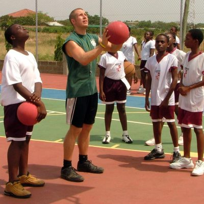 Basketball Coaching Volunteer Project in Ghana, Accra