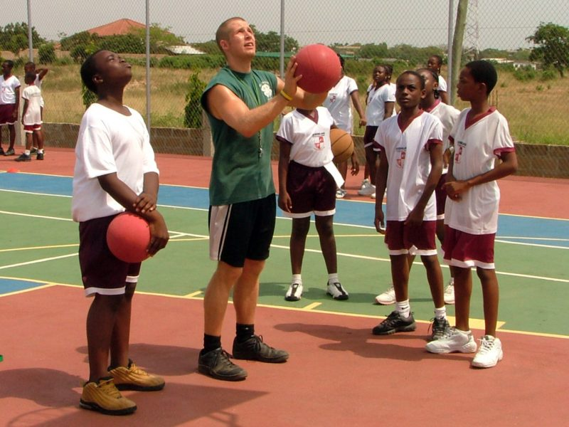 Ghana Basketball Coaching Project