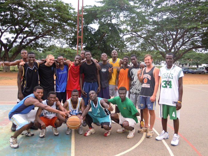 Basketball Coaching Placement in Ghana