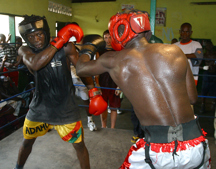 Ghana Boxing Bout James Town