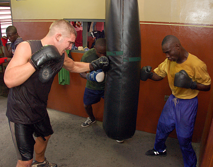 Boxing Training Programme in Ghana