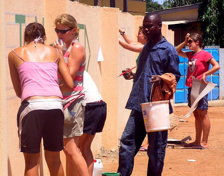 Painting Schools in Ghana