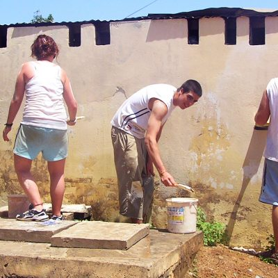 Building Volunteer Project Abroad in Ghana, Accra