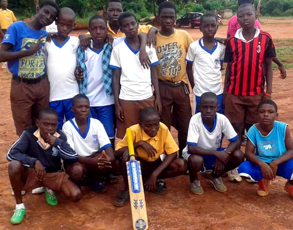 Cricket Project in Ghana