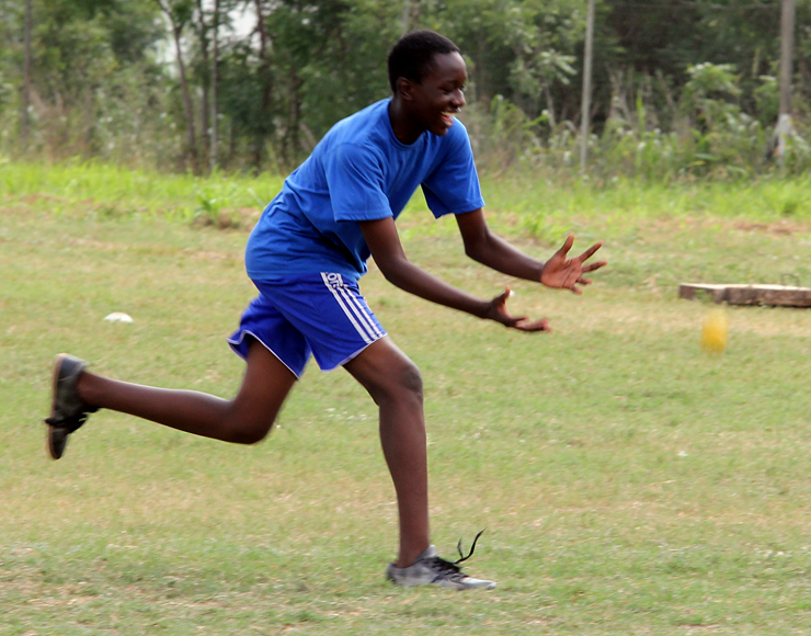 Cricket Fielding in Ghana