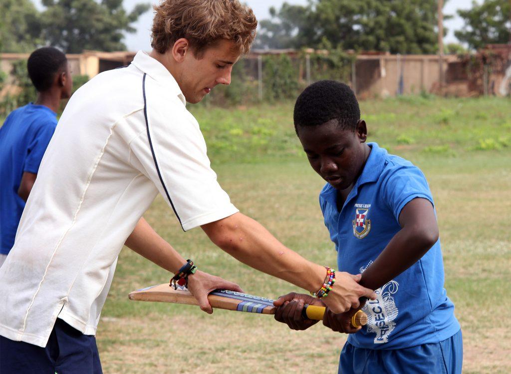 Coach Cricket in Ghana