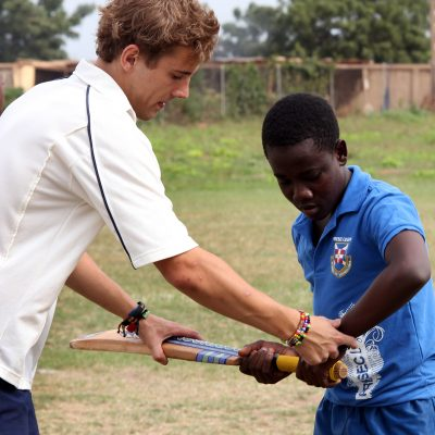 Cricket Coaching Volunteer Project in Ghana, Accra
