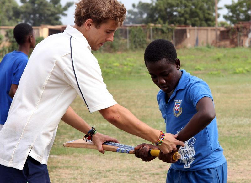 Coach Cricket in Ghana