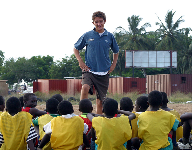 Community Football Coaching Ghana