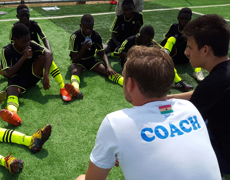 Coach Football in Ghana