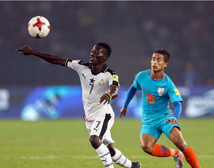 Fifa u17 World Cup Ghana vs India - Ibrahim Sulley