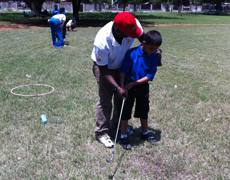 Golf Coaching Kids Ghana