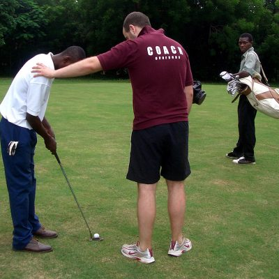 Golf Coaching Volunteer Project in Ghana, Accra