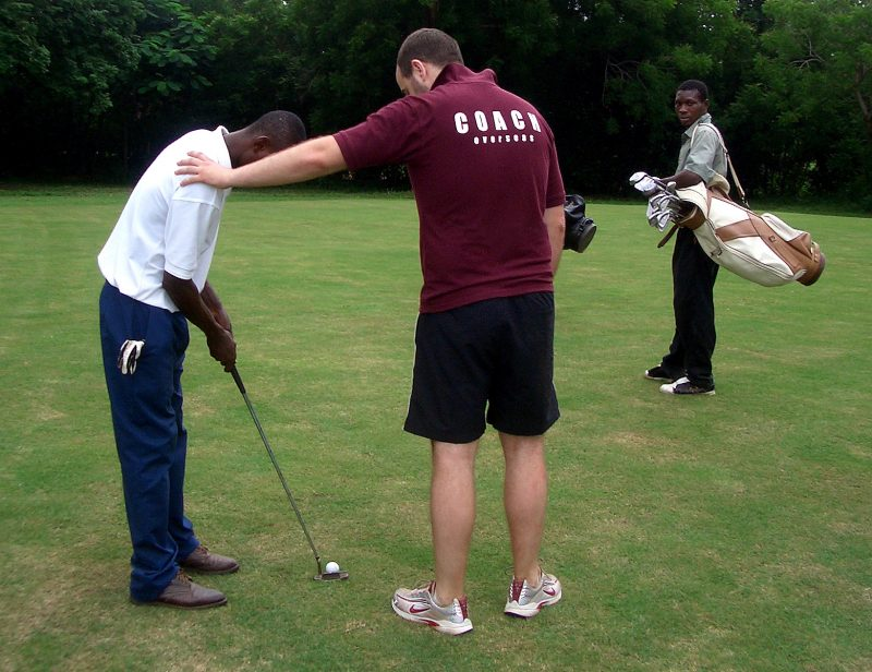 Golf Coaching in Ghana
